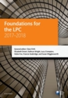 Foundations for the LPC 2017-2018 - Book