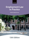 Employment Law in Practice - Book