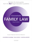 Family Law Concentrate : Law Revision and Study Guide - Book