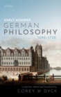 Early Modern German Philosophy (1690-1750) - Book