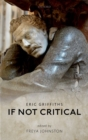 If Not Critical - Book