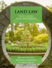 Land Law : Text, Cases & Materials - Book