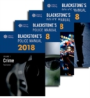 Blackstone's Police Manuals 2018: Four Volume Set - Book