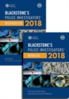 Blackstone's Police Investigators' Manual and Workbook 2018 - Book