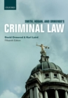 Smith, Hogan, & Ormerod's Criminal Law - Book