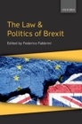 The Law & Politics of Brexit - Book