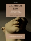 Criminal Law : Text, Cases, and Materials - Book