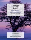 Family Law : Text, Cases, and Materials - Book