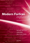 Modern Fortran Explained : Incorporating Fortran 2018 - Book