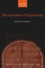 The Grammar of Expressivity - Book
