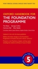 Oxford Handbook for the Foundation Programme - Book