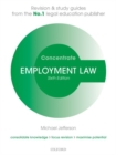 Employment Law Concentrate : Law Revision and Study Guide - Book
