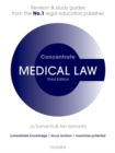 Medical Law Concentrate : Law Revision and Study Guide - Book