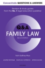 Concentrate Questions and Answers Family Law : Law Q&A  Revision and Study Guide - Book