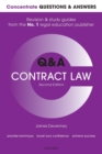 Concentrate Questions and Answers Contract Law : Law Q&A Revision and Study Guide - Book