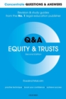 Concentrate Questions and Answers Equity and Trusts : Law Q&A Revision and Study Guide - Book