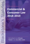 Blackstone's Statutes on Commercial & Consumer Law 2018-2019 - Book