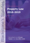Blackstone's Statutes on Property Law 2018-2019 - Book
