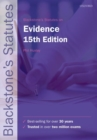 Blackstone's Statutes on Evidence - Book