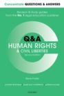 Concentrate Questions and Answers Human Rights and Civil Liberties : Law Q&A Revision and Study Guide - Book
