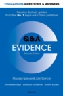 Concentrate Questions and Answers Evidence : Law Q&A Revision and Study Guide - Book