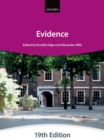 Evidence - Book