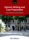 Opinion Writing and Case Preparation - Book