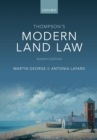 Thompson's Modern Land Law - Book