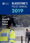 Blackstone's Police Manuals Volume 4: General Police Duties 2019 - Book