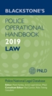 Blackstone's Police Operational Handbook 2019: Law - Book
