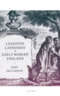 Learning Languages in Early Modern England - Book
