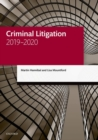Criminal Litigation 2019-2020 - Book