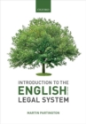 Introduction to the English Legal System 2019-2020 - Book