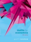 Maths for Economics - Book
