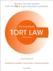 Tort Law Concentrate : Law Revision and Study Guide - Book