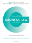 Business Law Concentrate : Law Revision and Study Guide - Book