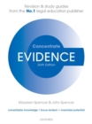Evidence Concentrate : Law Revision and Study Guide - Book