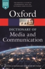 A Dictionary of Media and Communication - Book