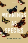 Meanings as Species - Book
