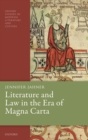 Literature and Law in the Era of Magna Carta - Book