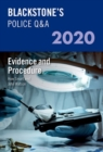 Blackstone's Police Q&A 2020 Volume 2: Evidence and Procedure - Book