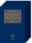 Blackstone's Criminal Practice 2020 (Book and All Supplements) - Book