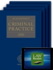 Blackstone's Criminal Practice 2020 (Book, All Supplements, and Digital Pack) - Book