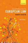 An Introduction to European Law - Book