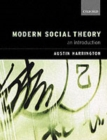 Modern Social Theory : An Introduction - Book