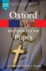 A Dictionary of Popes - Book