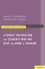 Literacy Instruction for Students who are Deaf and Hard of Hearing - eBook