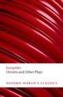 Orestes and Other Plays - Book