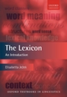 The Lexicon : An Introduction - Book