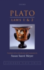 Plato: Laws 1 and 2 - Book